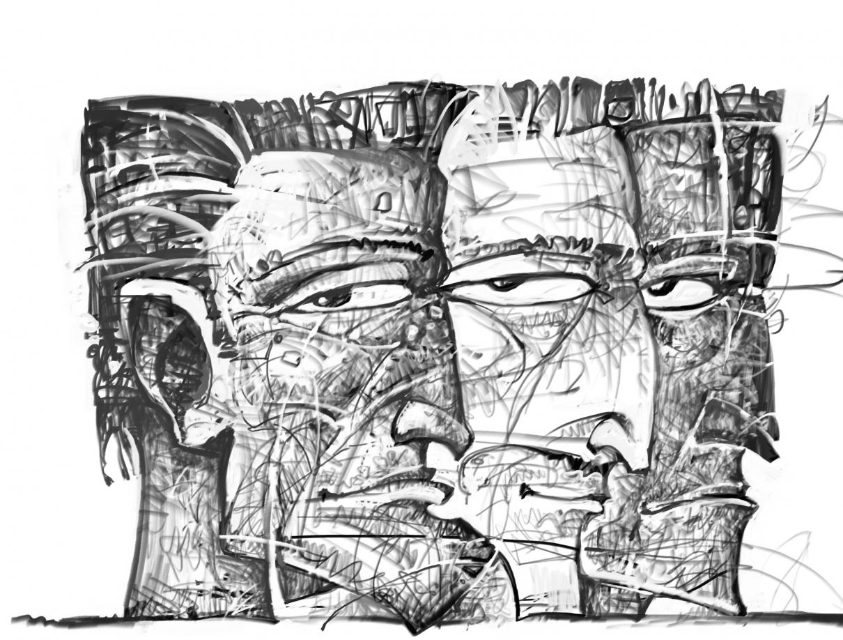 Three profiles