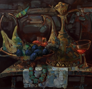 Still-life with the Beed